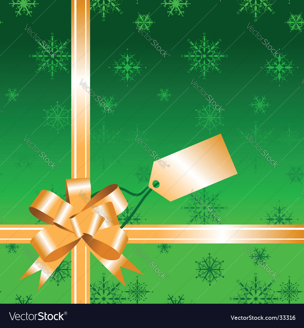Gift bow ribbon vector | Price: 1 Credit (USD $1)