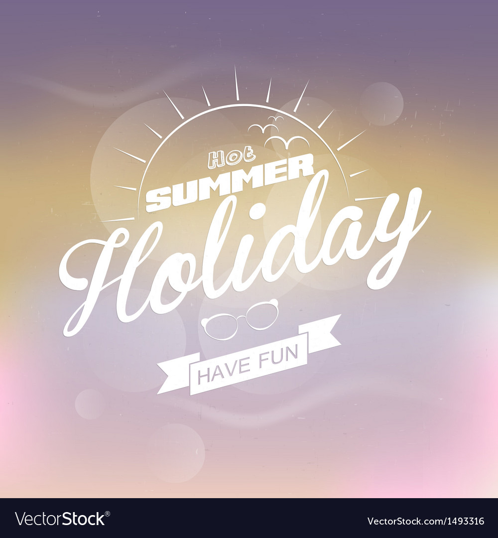 Summer escape 2 vector | Price: 1 Credit (USD $1)