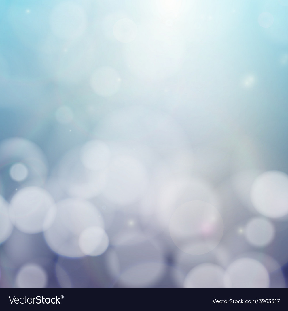 Blurry background with bokeh effect abstract vector | Price: 1 Credit (USD $1)