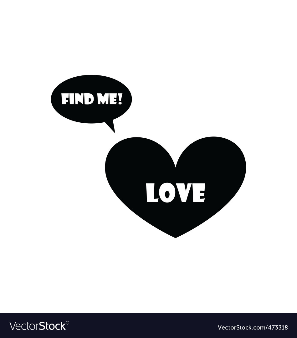 Find your love vector | Price: 1 Credit (USD $1)