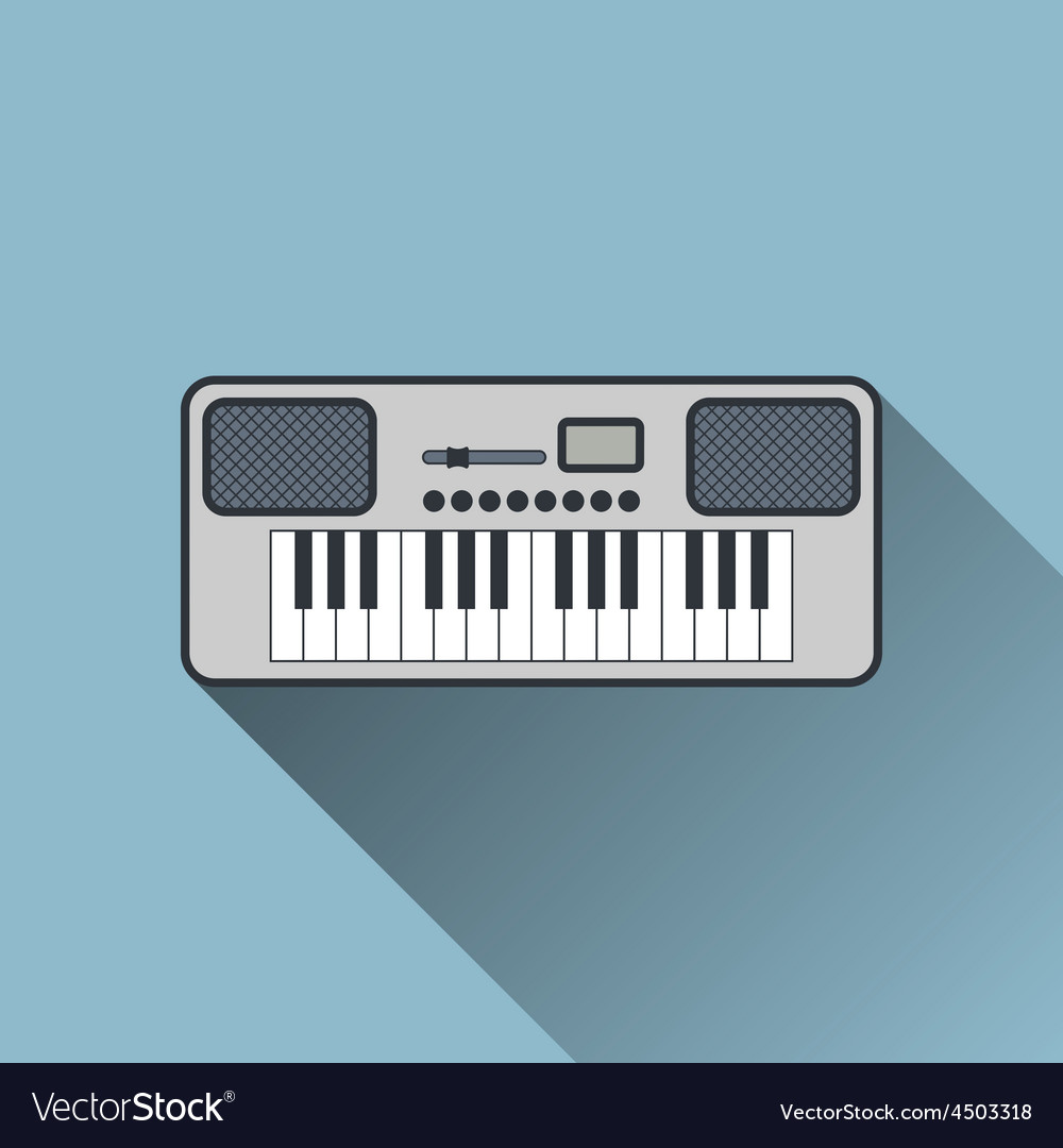 Synthesizer icon vector   Price: 1 Credit (USD $1)