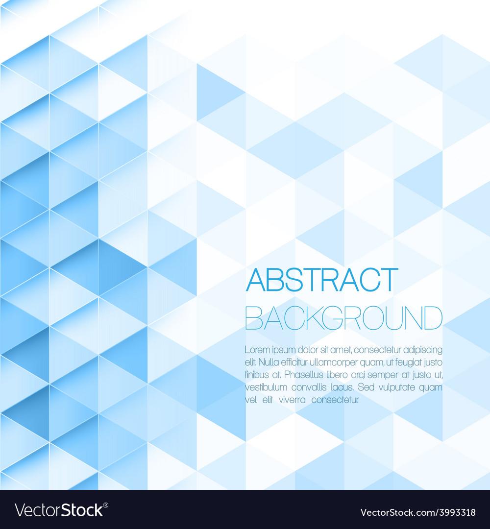 Triangular background vector | Price: 1 Credit (USD $1)