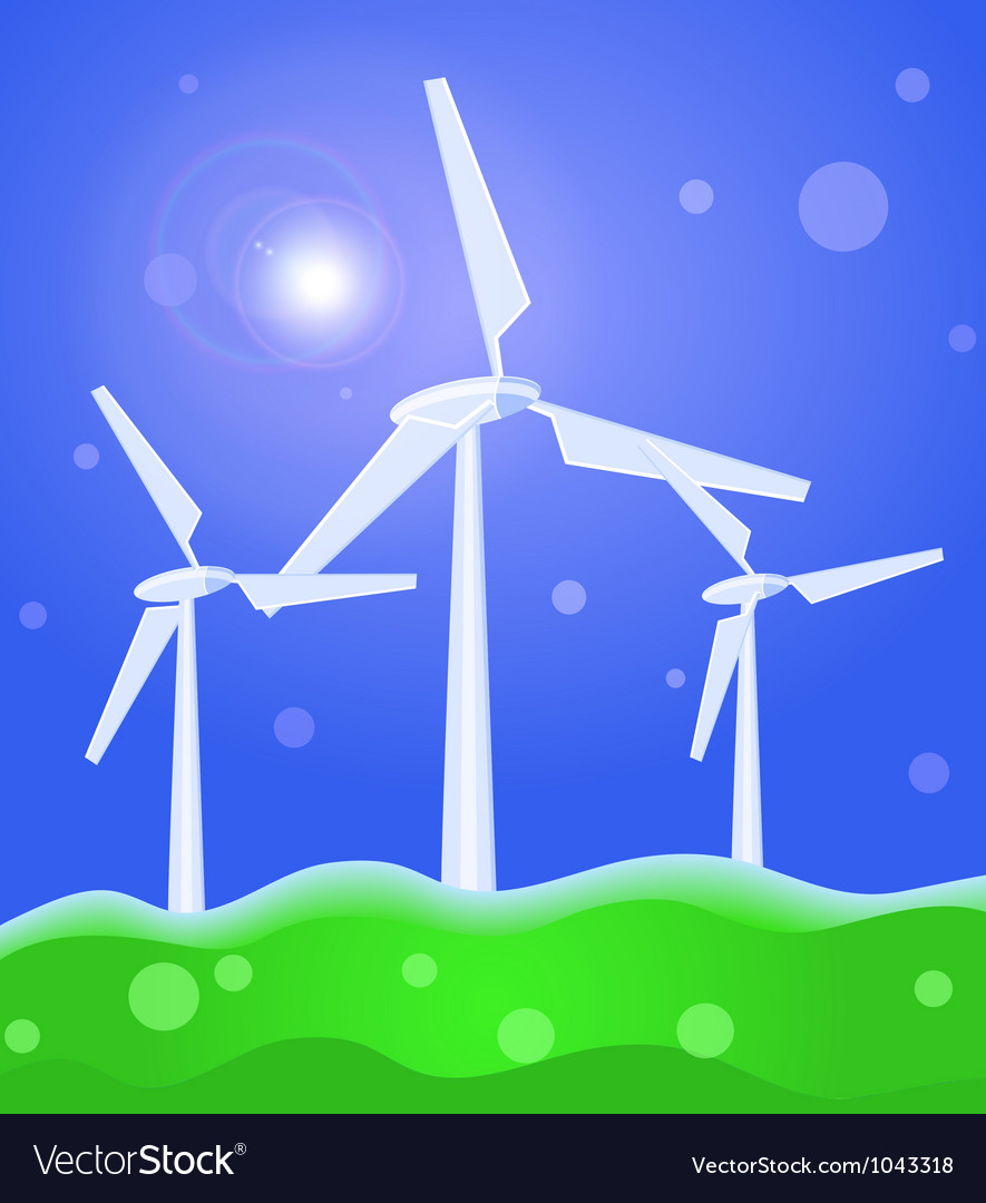 Wind concept vector | Price: 1 Credit (USD $1)