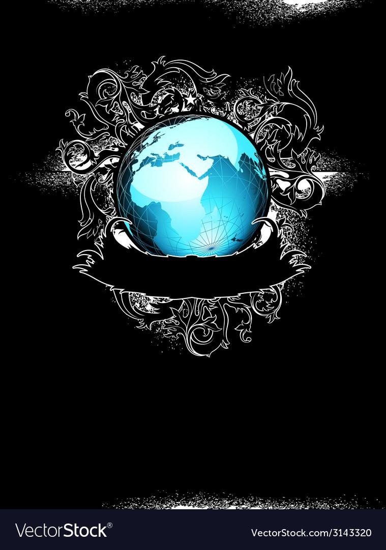 Grunge earth design vector   Price: 1 Credit (USD $1)