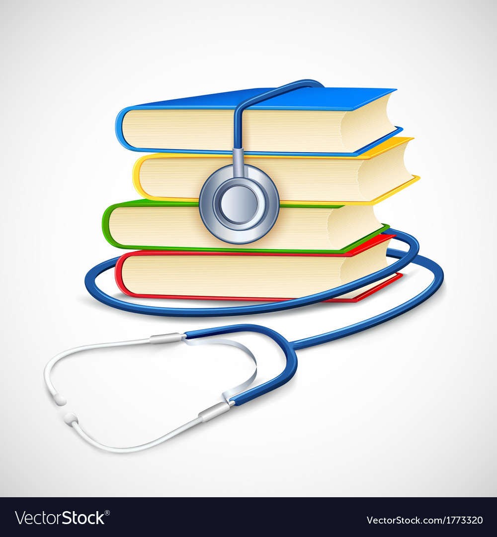 Medical book vector | Price: 1 Credit (USD $1)