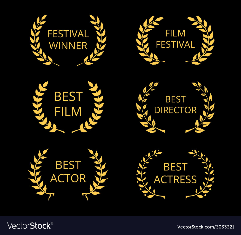 Film awards vector | Price: 1 Credit (USD $1)