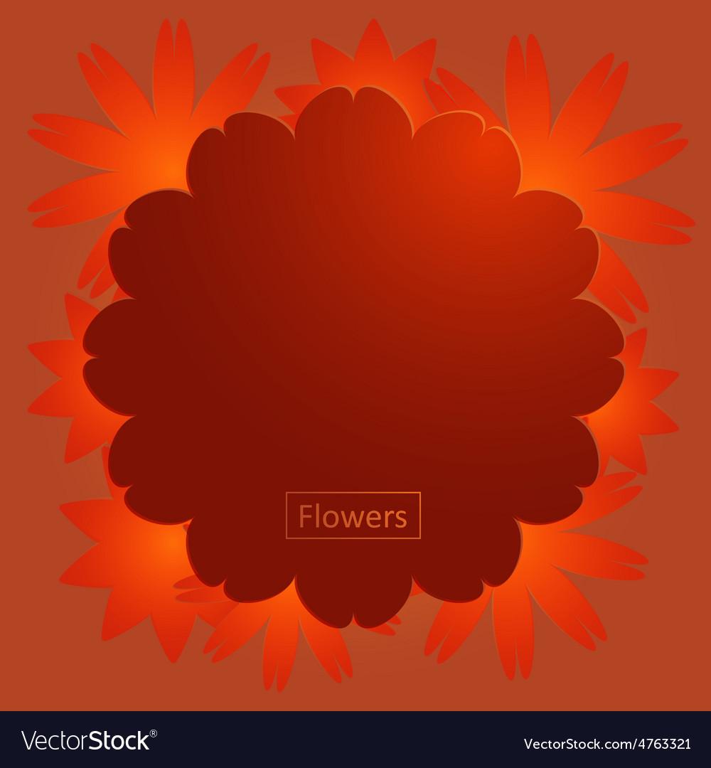 Flowers vector | Price: 1 Credit (USD $1)