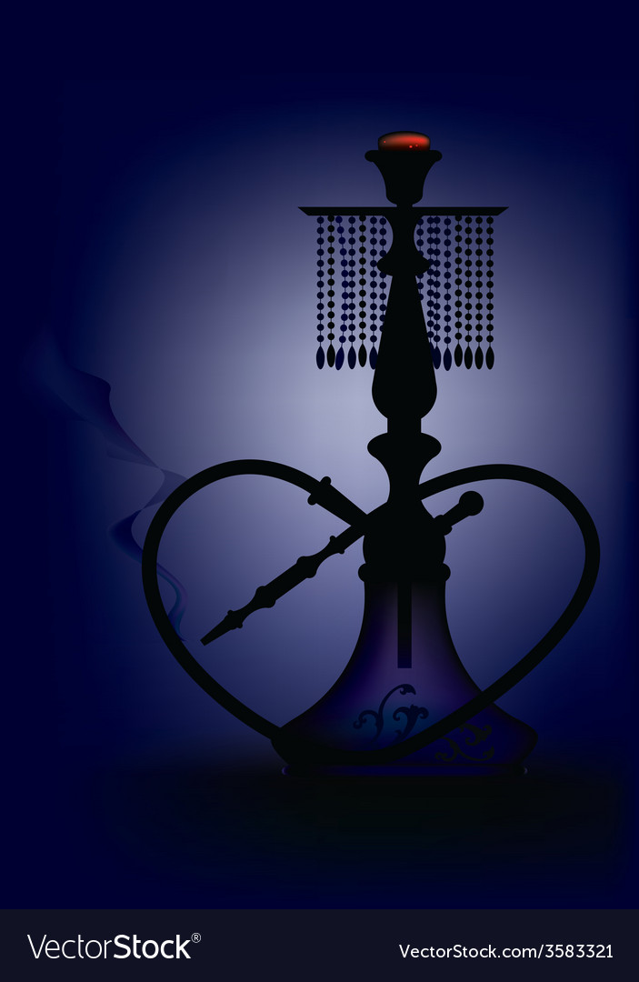 Hookah set vector | Price: 1 Credit (USD $1)