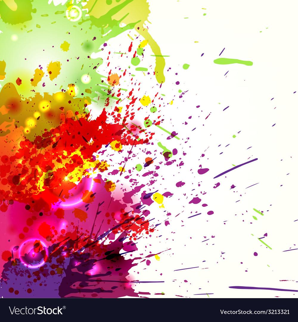Ink blots background vector | Price: 1 Credit (USD $1)