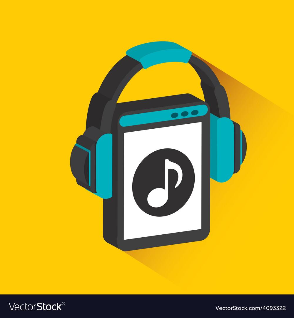 Digital music vector | Price: 1 Credit (USD $1)