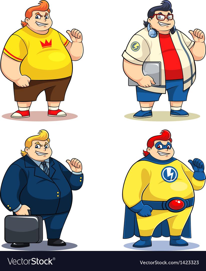 Mr bigger characters vector   Price: 3 Credit (USD $3)