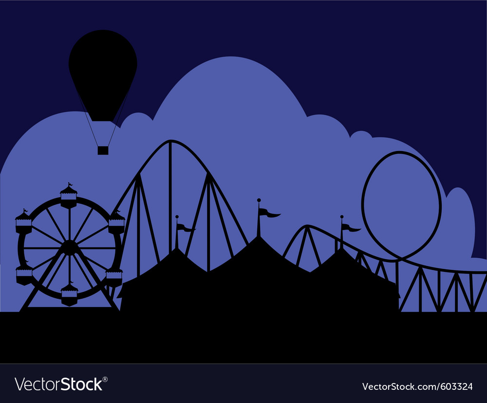 Carnival scene vector | Price: 1 Credit (USD $1)