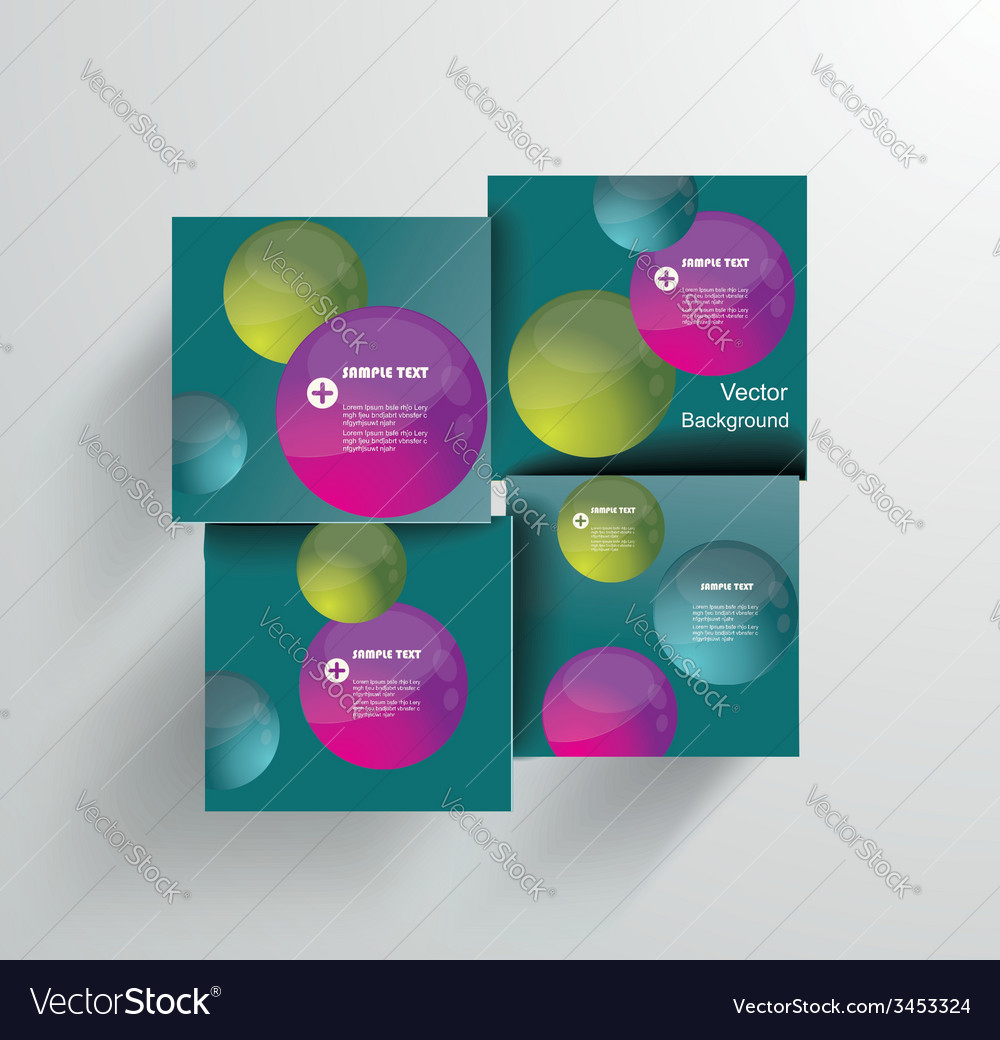 Design - eps10 simple and colorful circles vector | Price: 1 Credit (USD $1)
