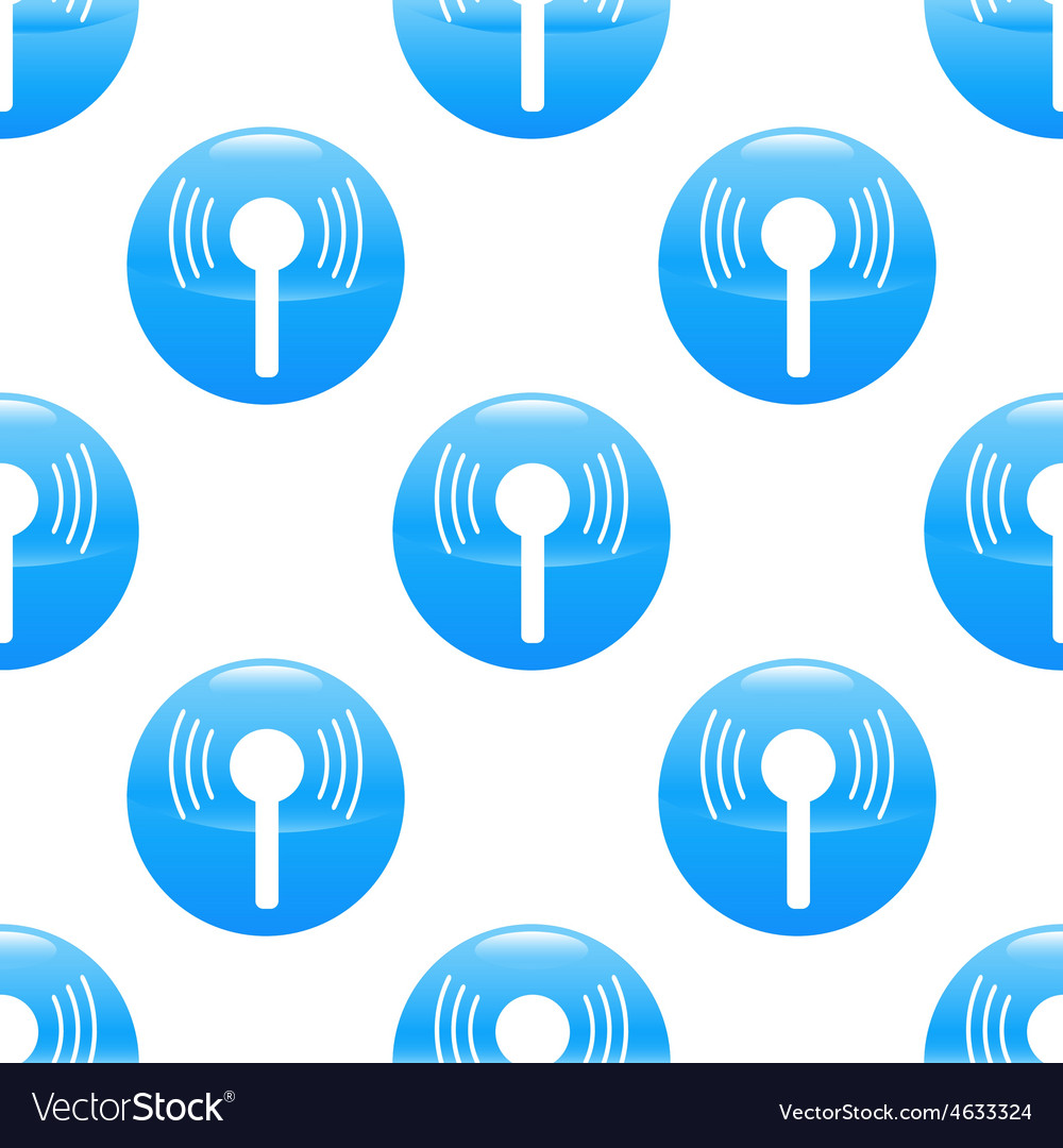 Wireless signal sign pattern vector | Price: 1 Credit (USD $1)