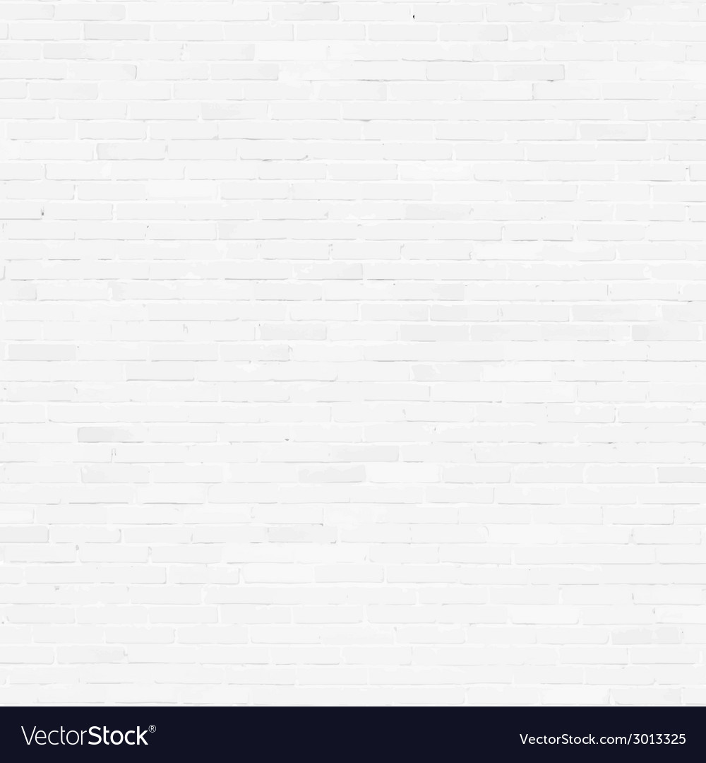 Brick wall white relief texture with shadow vector | Price: 1 Credit (USD $1)
