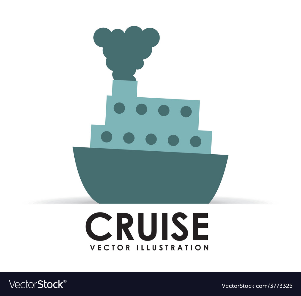 Cruise icon vector | Price: 1 Credit (USD $1)