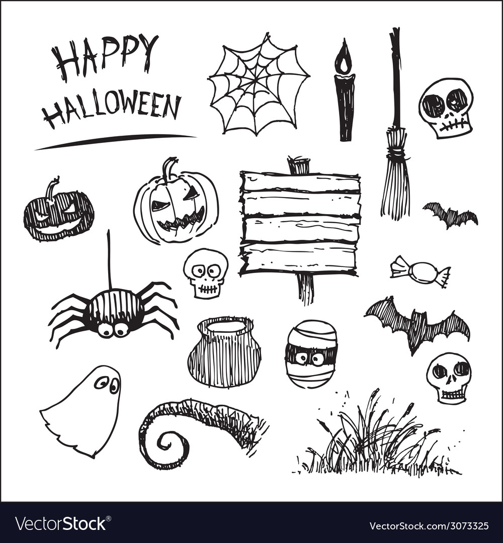 Halloween icon cartoon vector | Price: 1 Credit (USD $1)