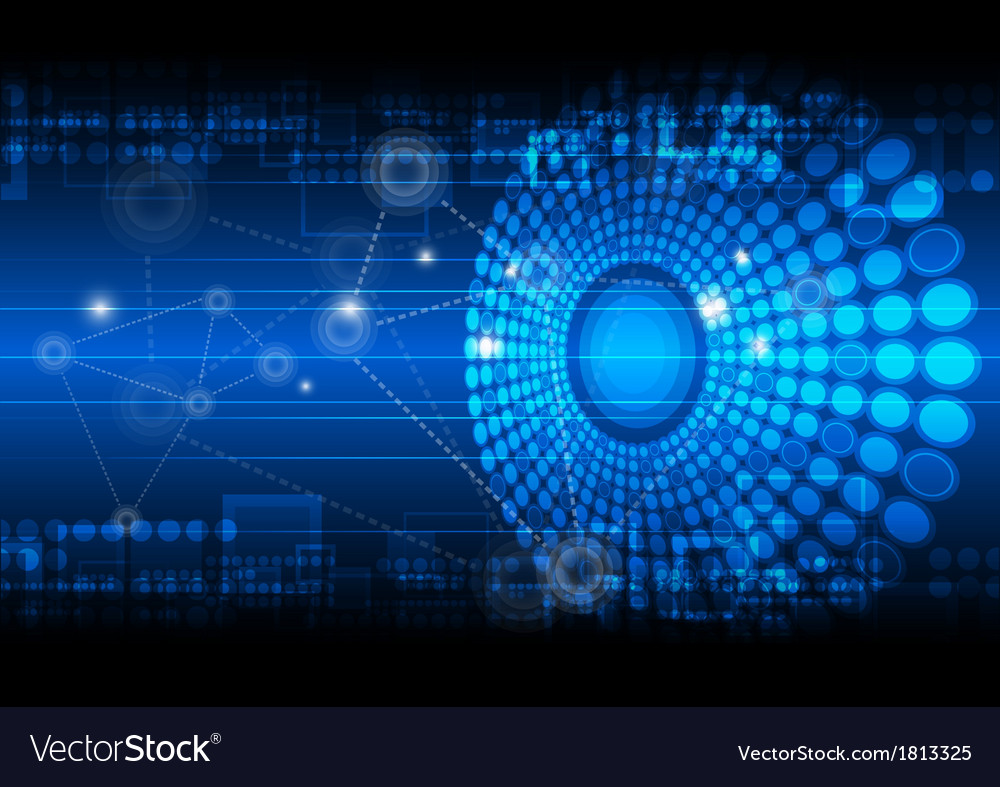 Network technology background vector | Price: 1 Credit (USD $1)
