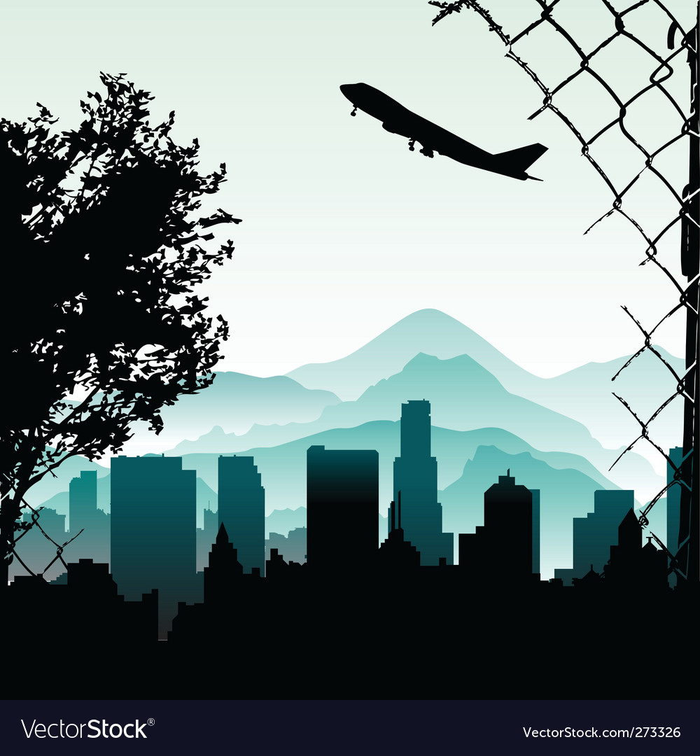 City illustration vector | Price: 1 Credit (USD $1)
