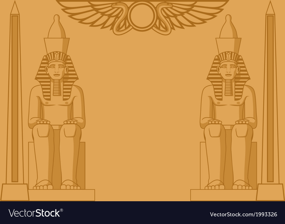 Egyptian background vector | Price: 1 Credit (USD $1)