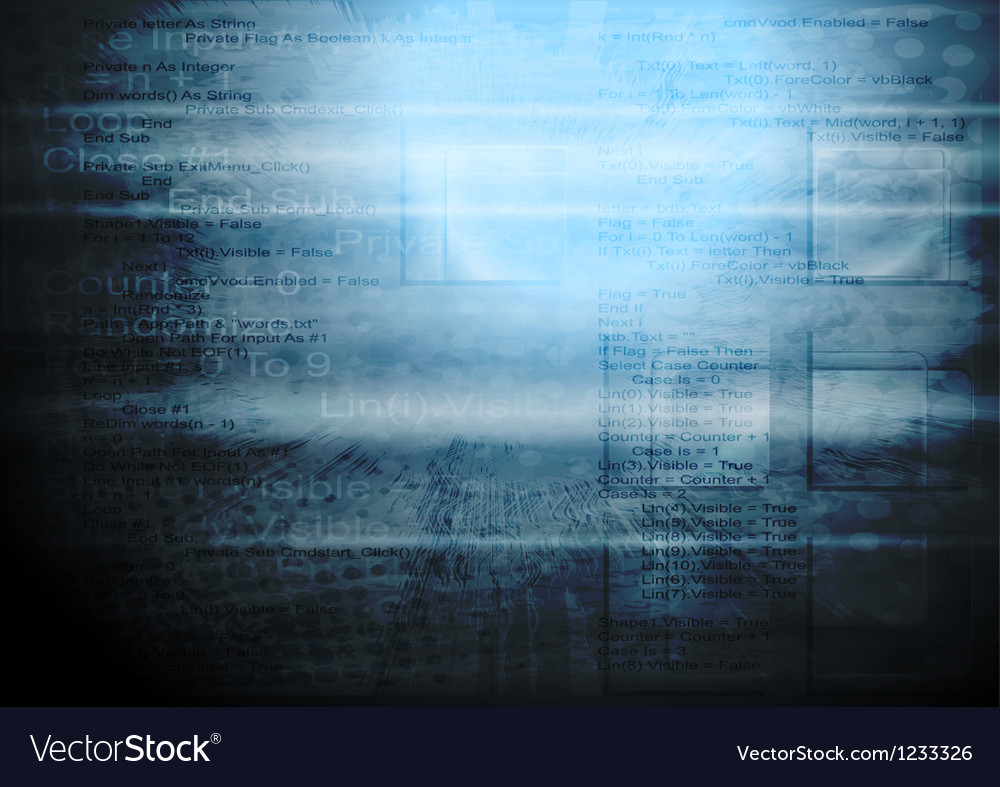 Grunge hi-tech backdrop vector | Price: 1 Credit (USD $1)