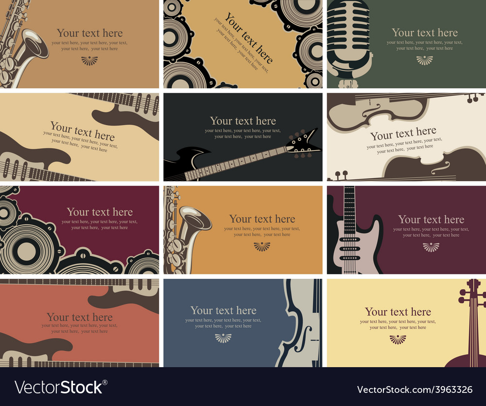 Music card vector   Price: 1 Credit (USD $1)
