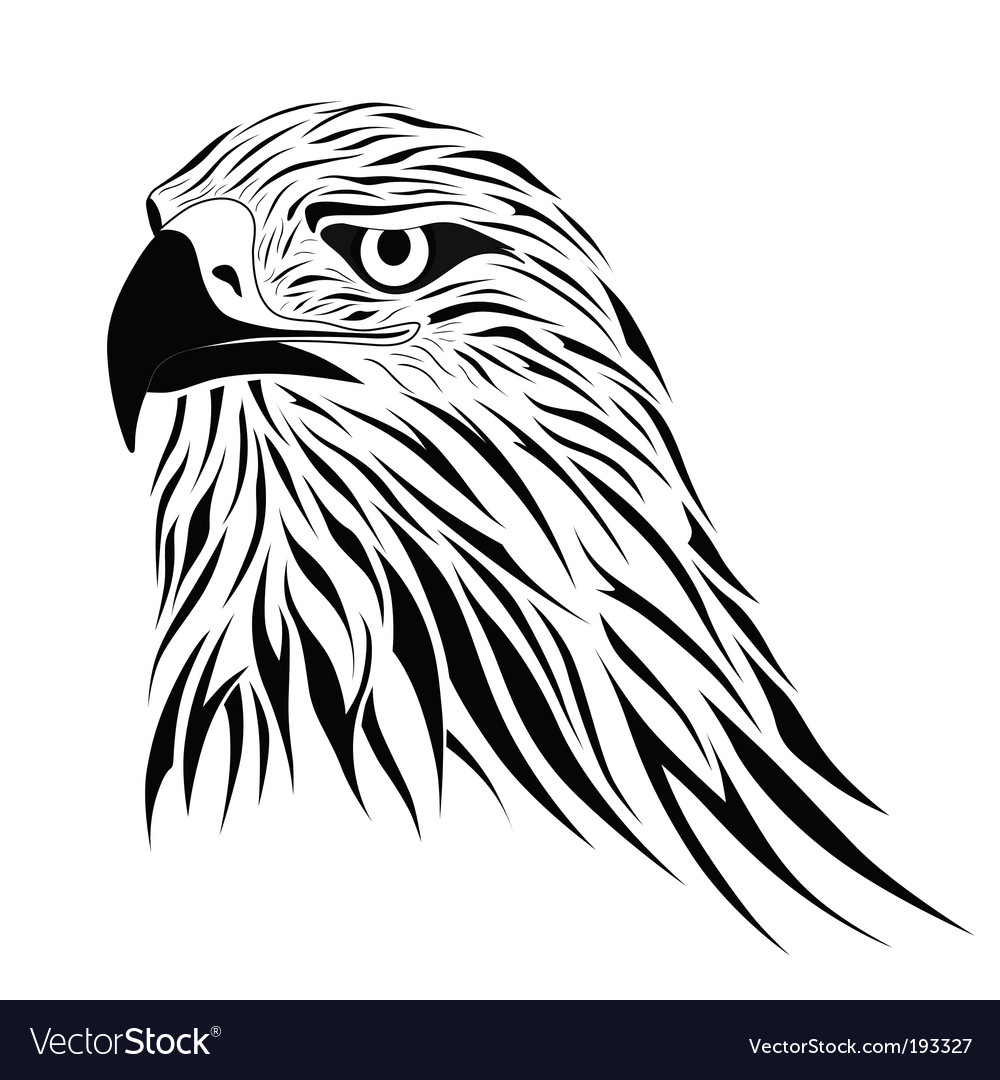 Hawk tattoo vector | Price: 1 Credit (USD $1)