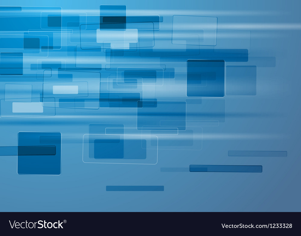 Abstract blue background with tech elements vector | Price: 1 Credit (USD $1)