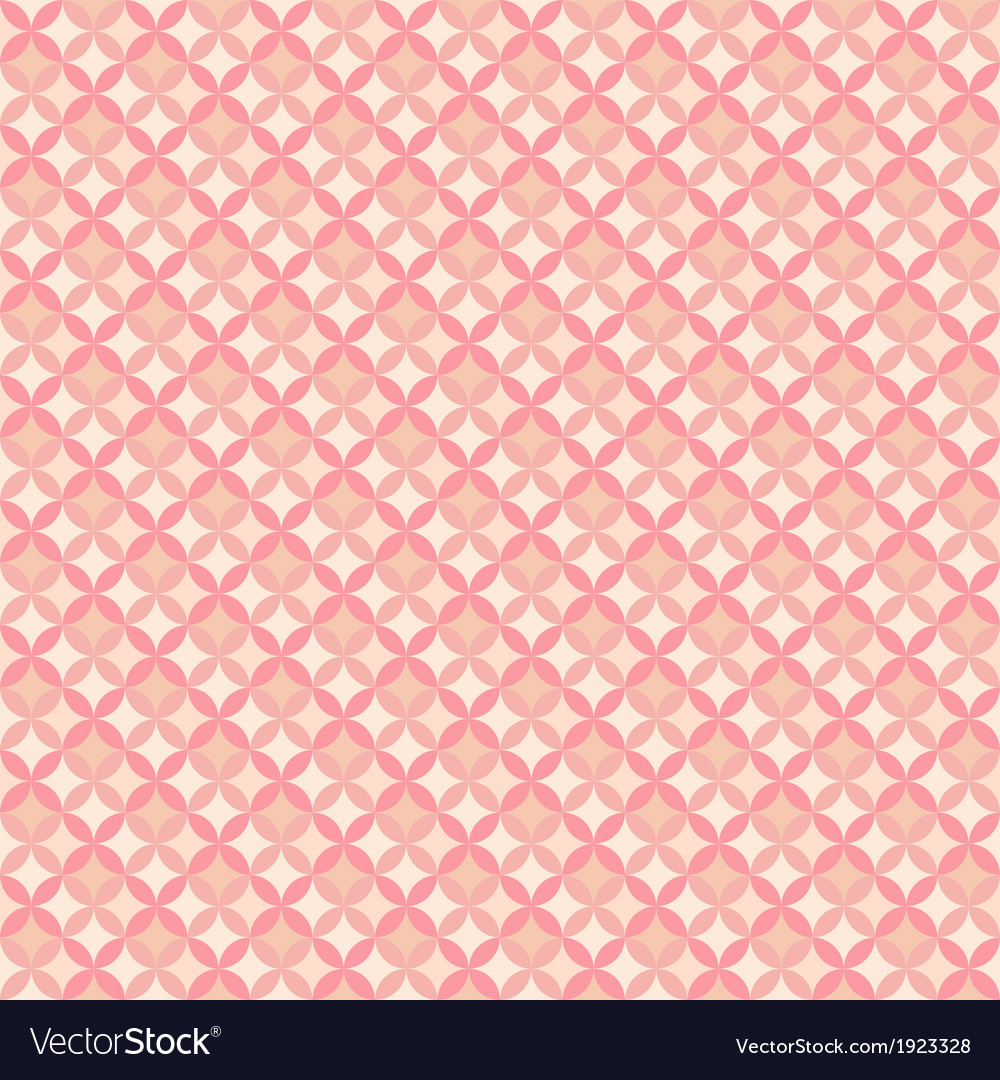 Abstract geometric floral pattern wallpaper vector | Price: 1 Credit (USD $1)