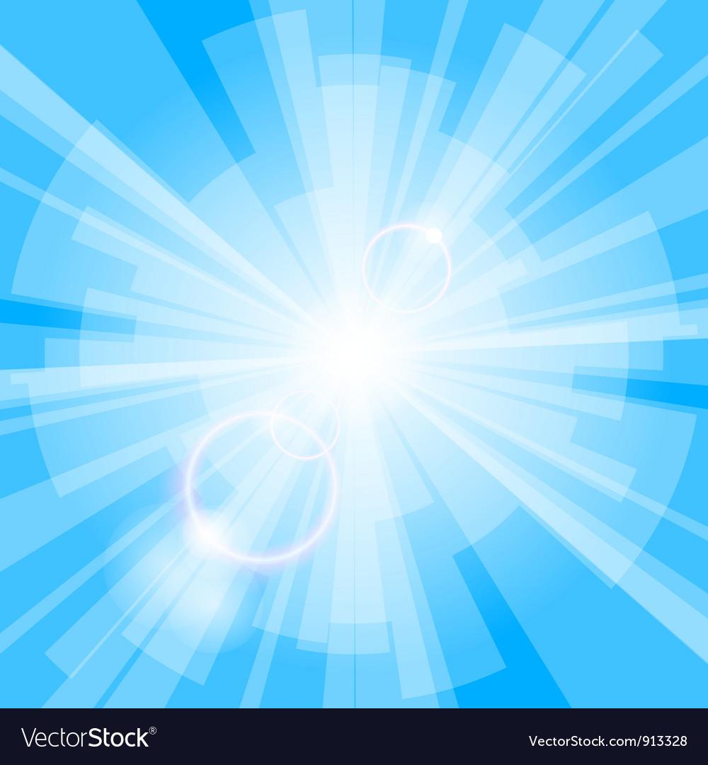 Blue light background vector | Price: 1 Credit (USD $1)