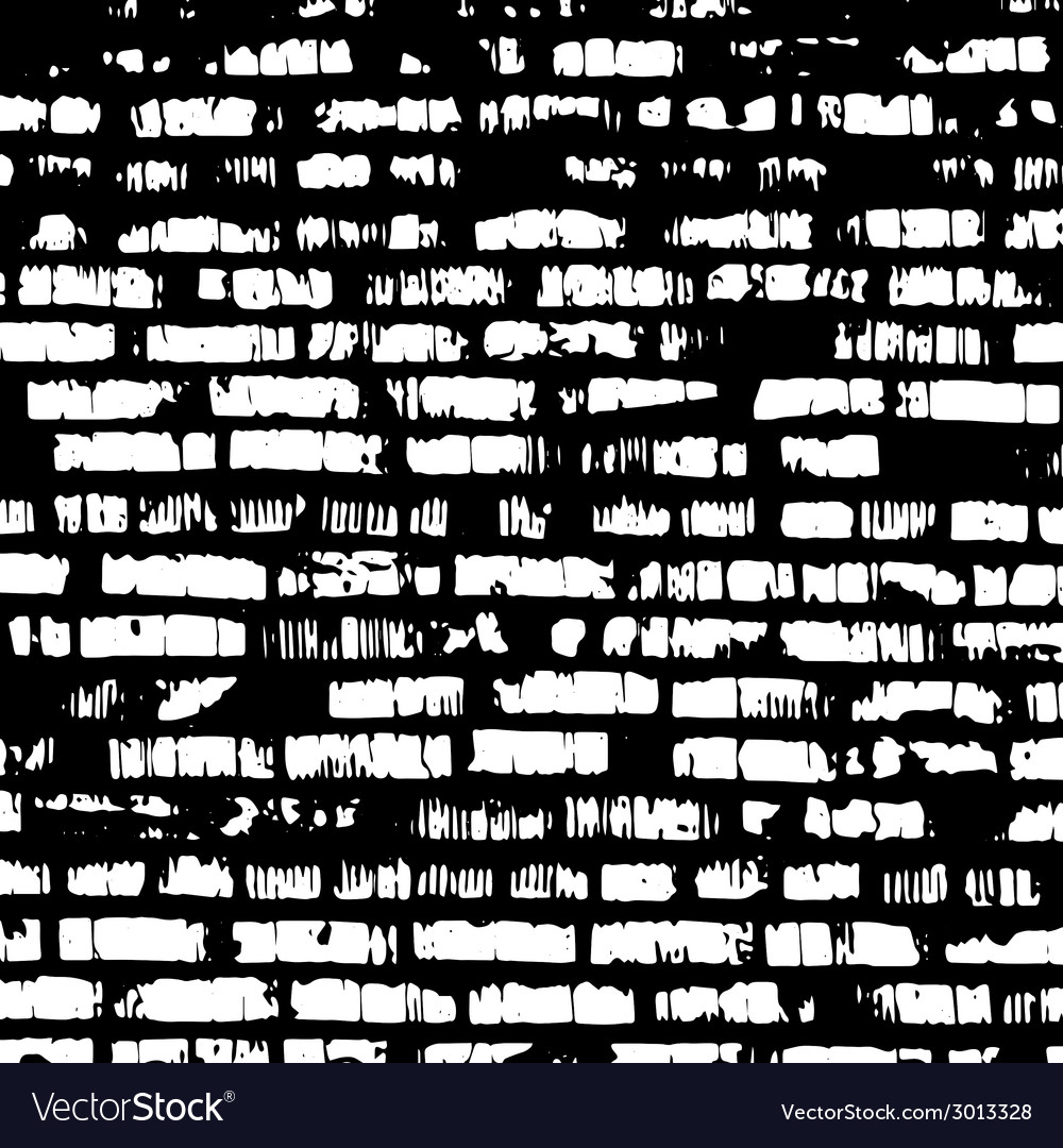 Brick wall black and white relief texture with vector | Price: 1 Credit (USD $1)