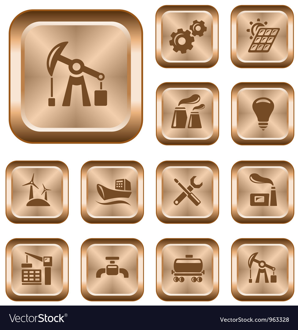 Industrial buttons vector   Price: 1 Credit (USD $1)