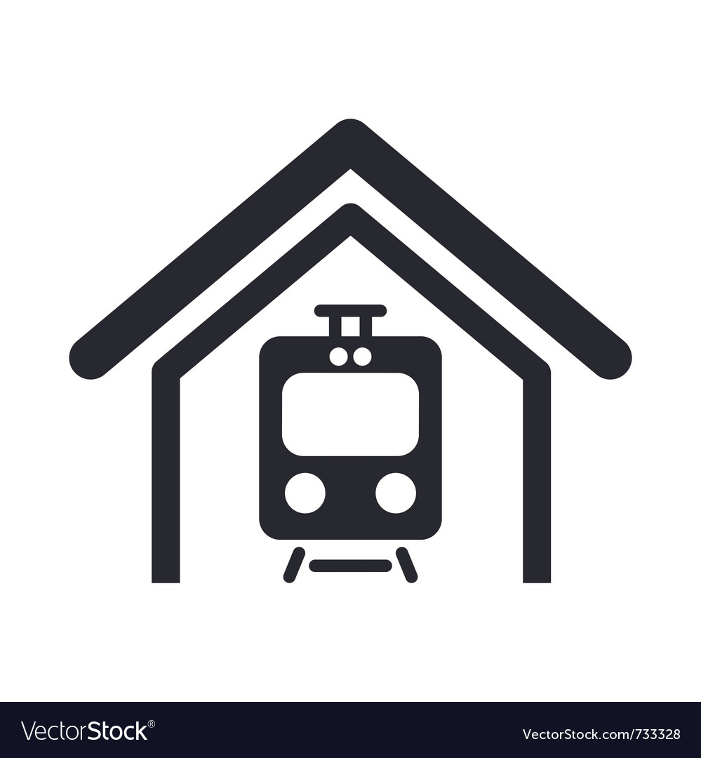Train icon vector | Price: 1 Credit (USD $1)