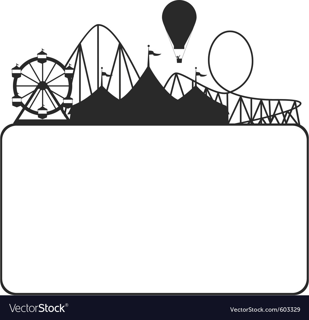 Carnival silhouette vector | Price: 1 Credit (USD $1)