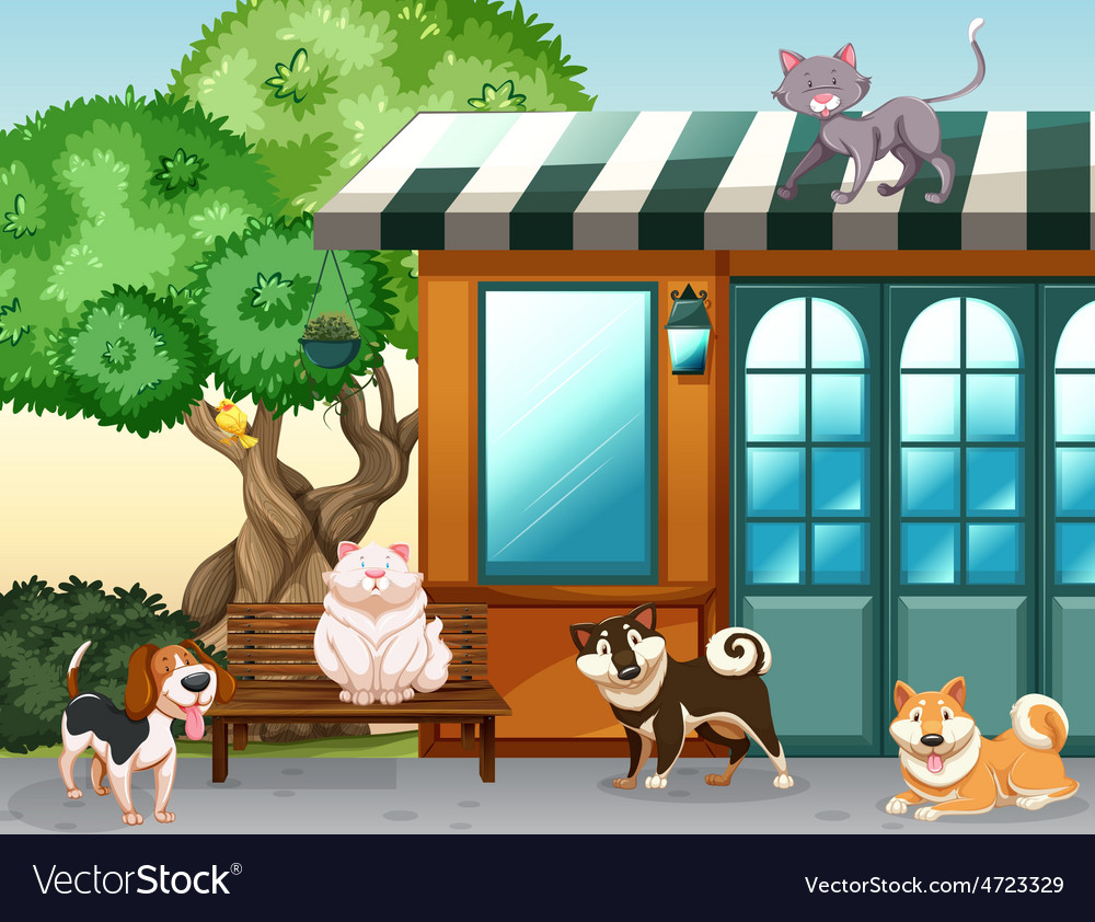 Domestic animals vector | Price: 3 Credit (USD $3)