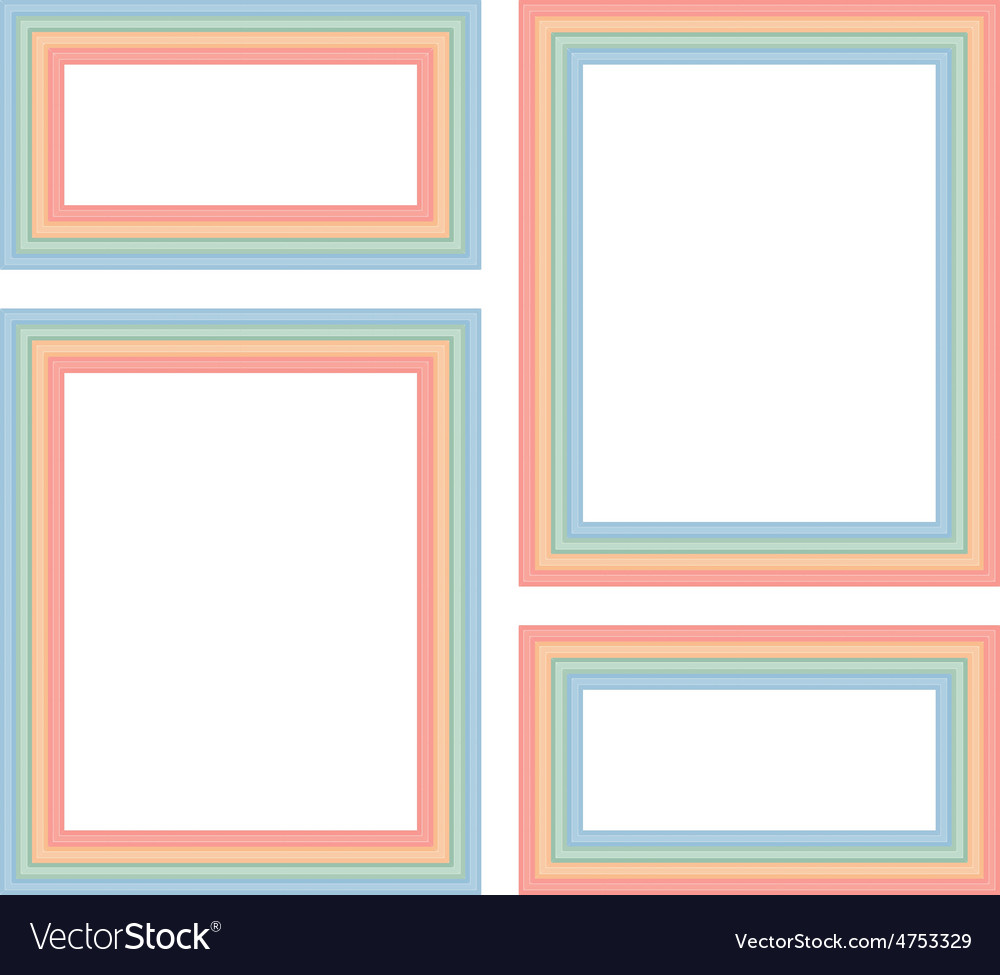 Frames for photos vector | Price: 1 Credit (USD $1)