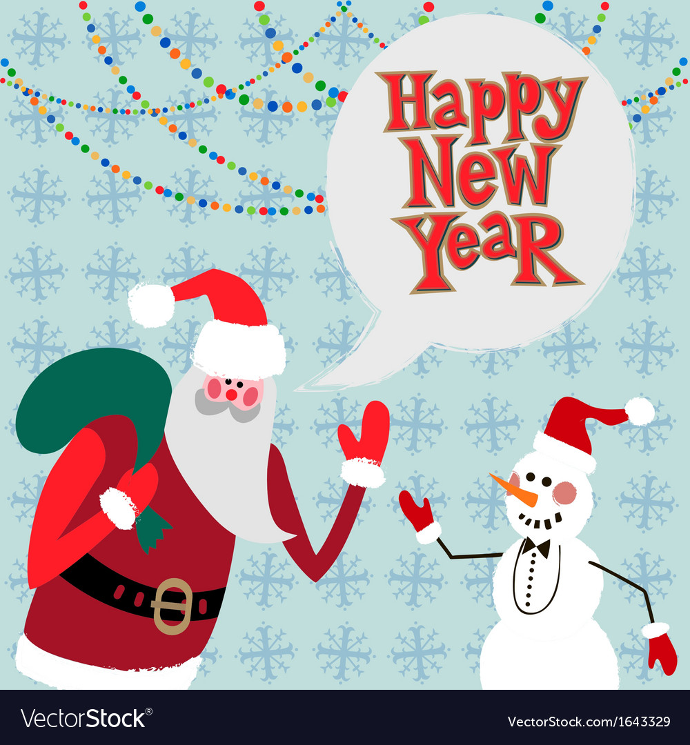 New year greeting card concept vector   Price: 1 Credit (USD $1)