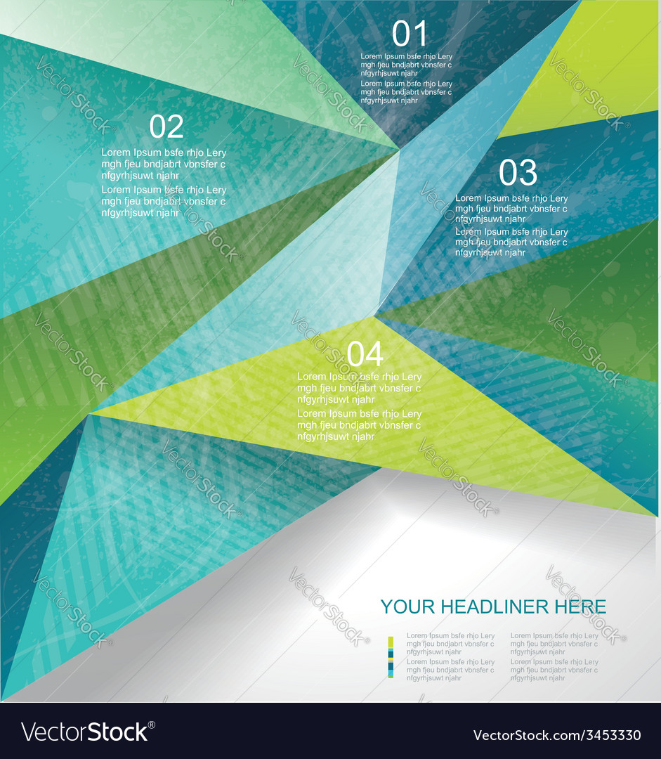 Abstract geometrical background polygonal design vector   Price: 1 Credit (USD $1)