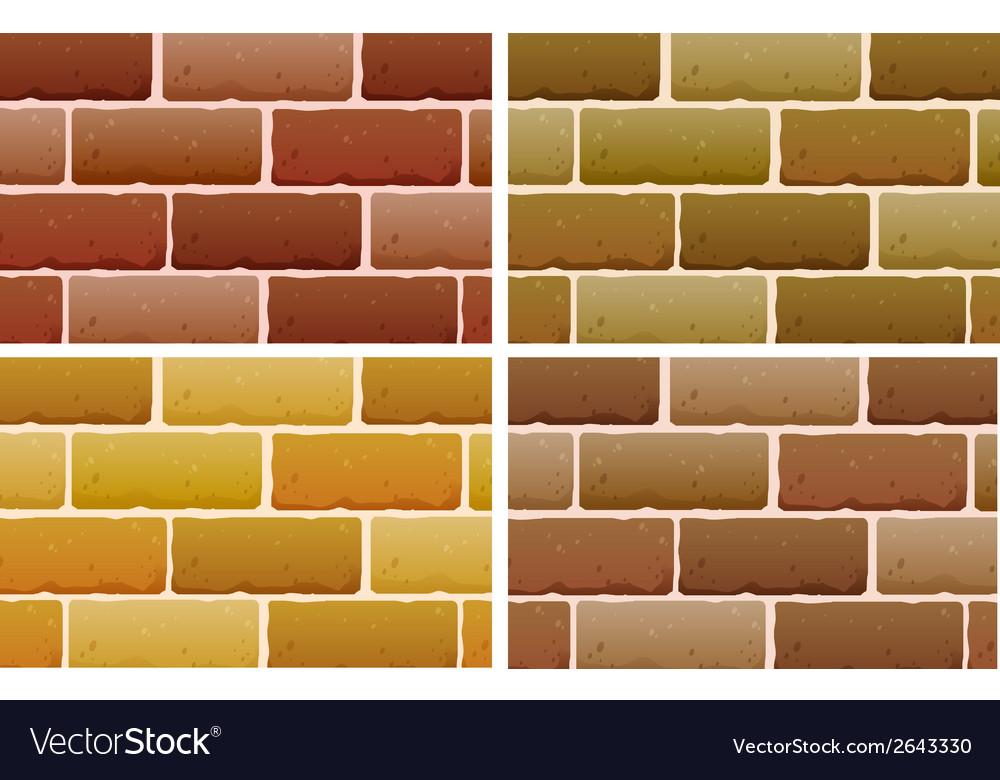 Brick designs vector | Price: 1 Credit (USD $1)