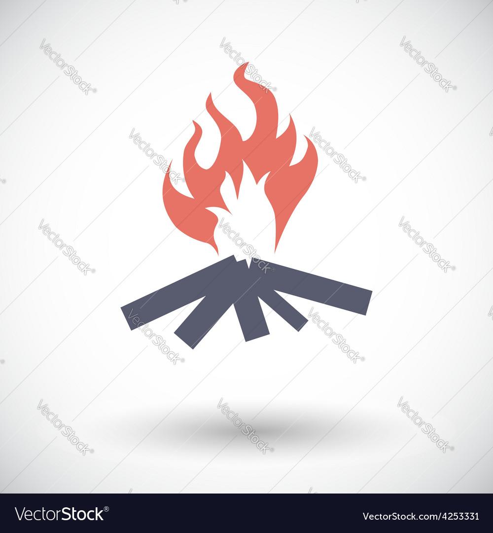 Bonfire vector | Price: 1 Credit (USD $1)