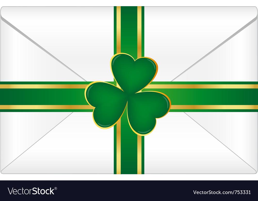 St patricks envelope vector | Price: 1 Credit (USD $1)