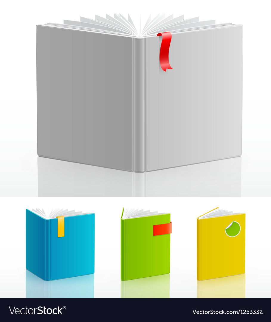 Bookstand set vector | Price: 1 Credit (USD $1)