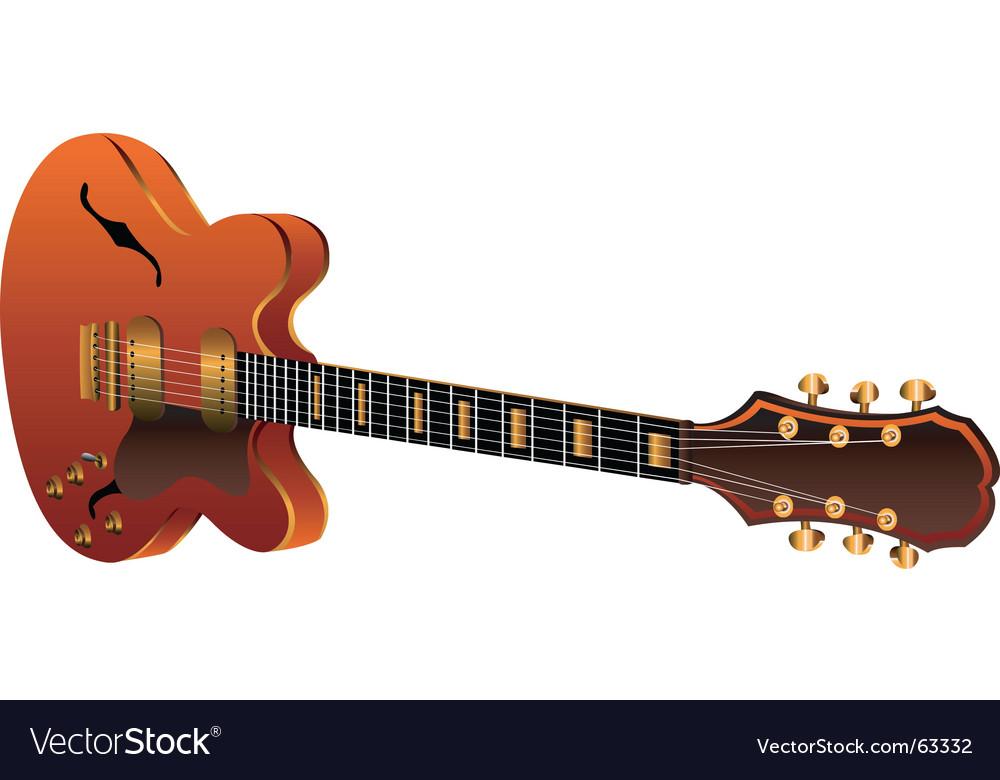 Electric guitar vector   Price: 1 Credit (USD $1)