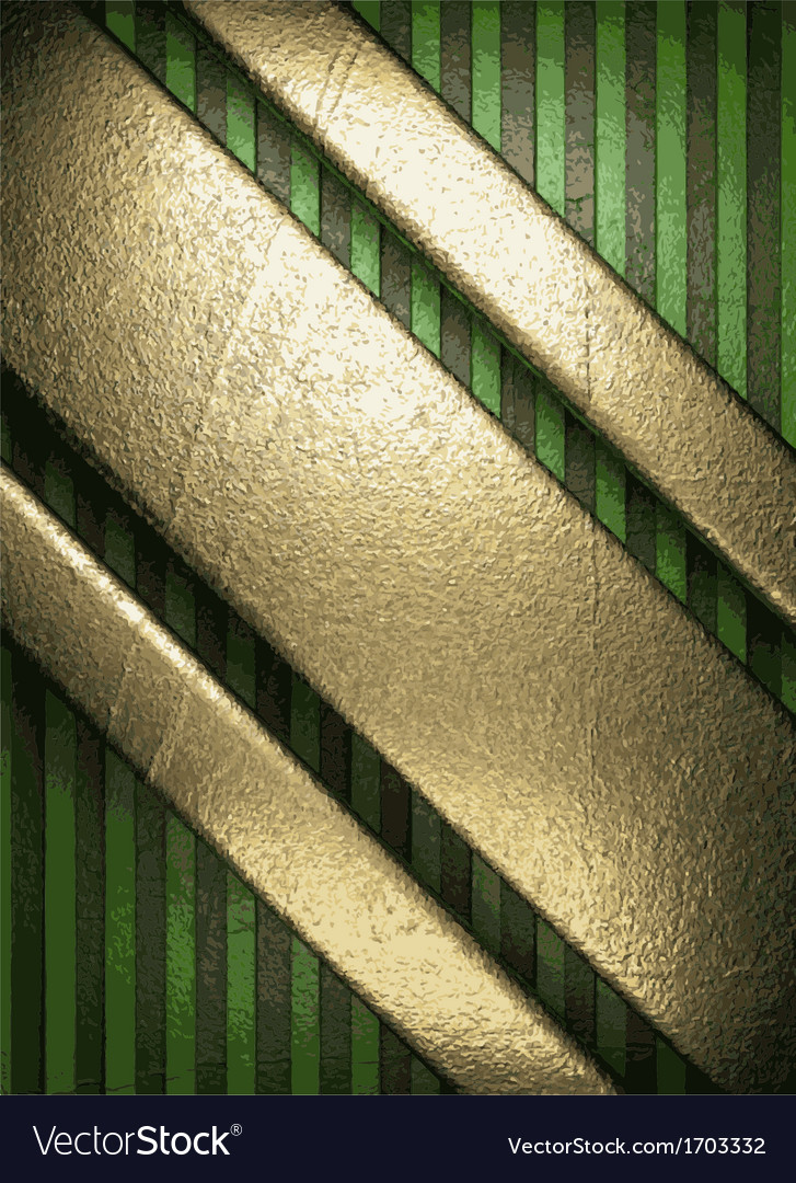 Gold on green background vector   Price: 1 Credit (USD $1)