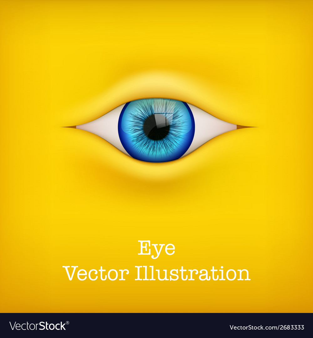 Background with human eye vector | Price: 1 Credit (USD $1)