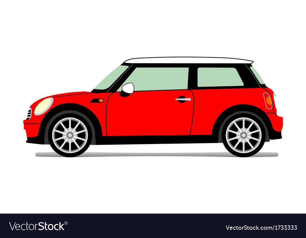 New red mini vector | Price: 1 Credit (USD $1)