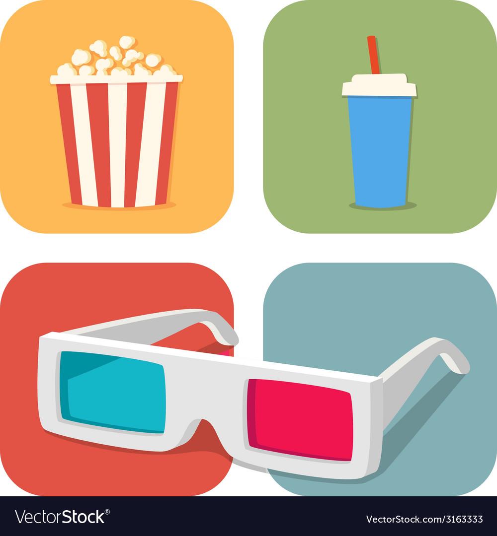 Popcorn vector | Price: 1 Credit (USD $1)