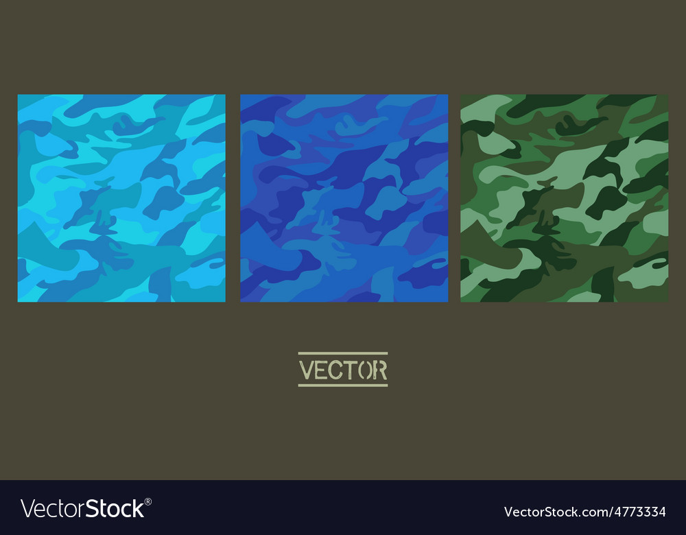 Camouflage fabric pattern shape vector   Price: 1 Credit (USD $1)
