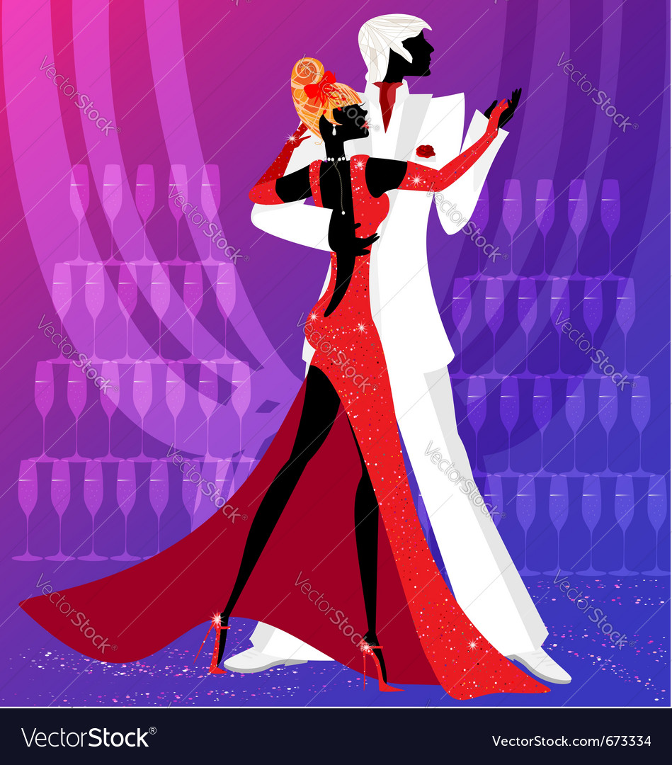 Dance for two vector | Price: 1 Credit (USD $1)