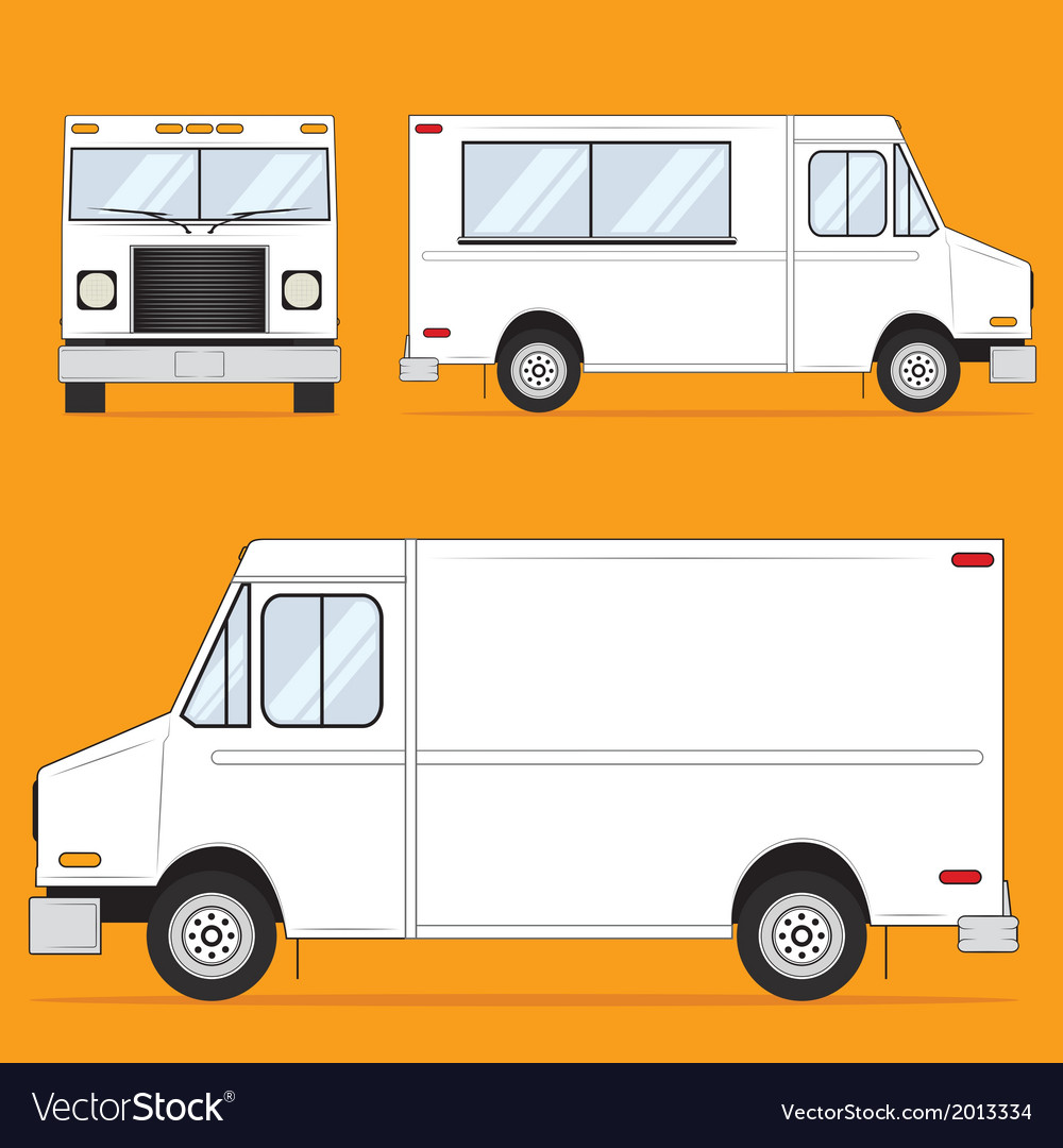 Food truck vector | Price: 1 Credit (USD $1)